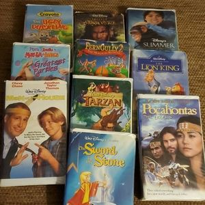 VHS Movie bundle